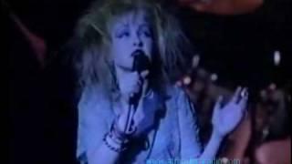 ♪♪ Cyndi Lauper ♪♪ All through the night HITS 80