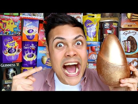 ALL BRITISH CHOCOLATE EASTER EGGS