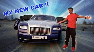 MY NEW $350,000 ROLLS-ROYCE !!!