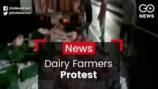 Dairy Farmers Protest