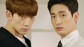 Jung Ji Hoon VS Yoon Park, funny dance battle 《Come Back Mister》 돌아와요 아저씨 EP12