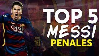 TOP 5 | Leo Messi y sus Mejores Penales en La Liga