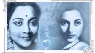 Geeta Dutt, Suraiyya : Preet ka naata jodnewaale : Film - Afsar (1950)