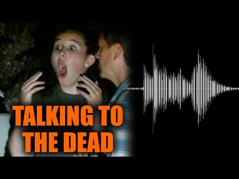 Talking To The Dead Prank