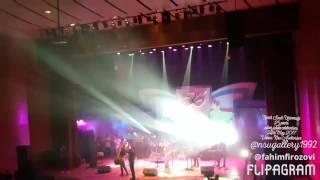 Kumar Bishwajit performance in nsu 25 years silver jubilee Celebration