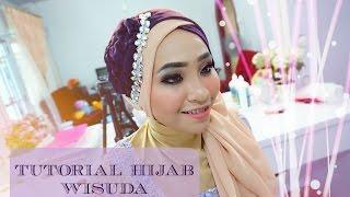 Tutorial Hijab Wisuda (Graduation) 2 Warna 2016  - Alyn Devian #AD8