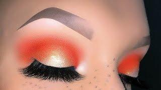 Coachella Spring Festival Peachy Halo Makeup Tutorial - Look Fresco Primaverile