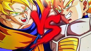 Goku VS. Vegeta | Duelo de Titãs