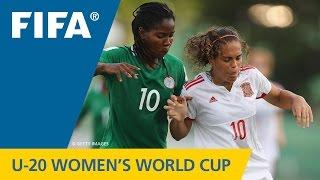 MATCH 19: NIGERIA v SPAIN - FIFA Women's U20 Papua New Guinea 2016