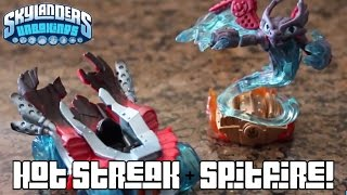 Skylanders Superchargers AWESOME Unboxing: Spitfire + Hot Streak (Part 17)