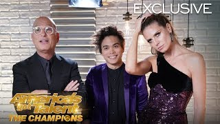 Shin Lim Talks About His WINNING MOMENT On AGT: The Champions - America