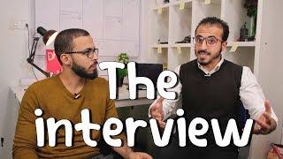 """كيف تجتاز مقابلة العمل """" الانترفيو """" بنجاح 💼"""