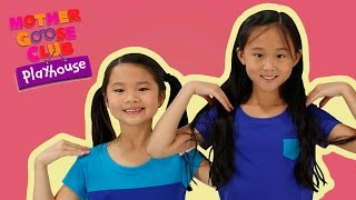 Dance Time | Head, Shoulders, Knees and Toes | Mother Goose Club Playhouse Kids Video