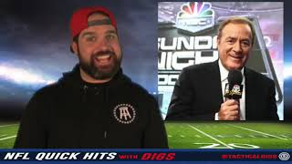 NFL Quick Hits With Digs 10-16-17