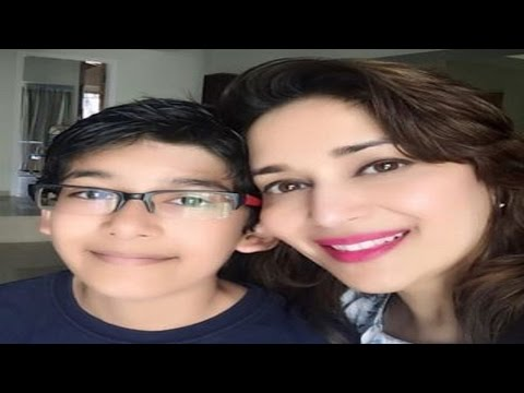 Madhuri Dixit's Selfie With Her Son Arin Is Adorable!