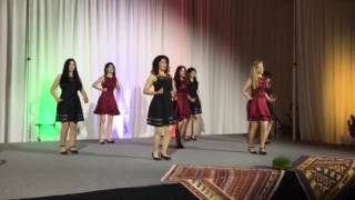 OHIO UNIVERSITY- PERSIAN DANCE- AZARI DANCE- NOWROOZ 95