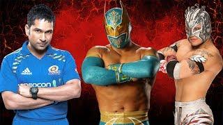 Sachin Tendulkar VS Kalisto & Sin Cara - WWE Fight
