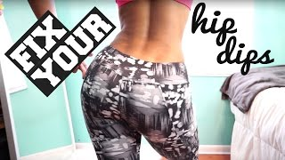Exercises for WIDER Hips | Fix Your Hip Dips by Vicky Justiz