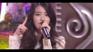 111231 KBS Drama Awards - IU - You & I