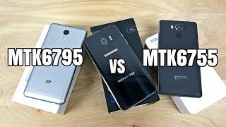 Xiaomi Redmi Note 3(MTK6795) vs Elephone P9000(MTK6755) - Benchmark Test!