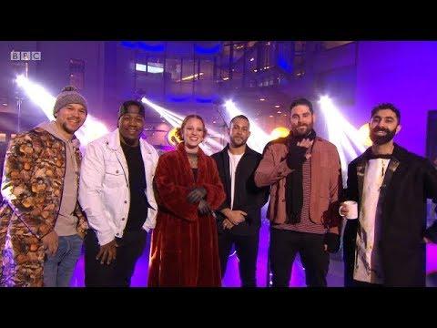 Rudimental - These Days Live (ft. Jess Glynne and Dan Caplen). The One Show. 7 Feb 2018