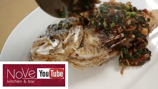 VENOMOUS Lionfish Fish Fry - Asian Inspired Dish