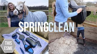 SPRING CLEAN | Tackroom, Grooming Brushes and more! | This Esme