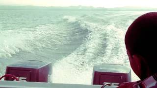 Speed boat journey. Chittagong theke sandwip jabar somoy Sagor ar maj khane.