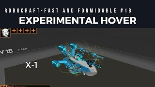 FnF #18 - EXPERIMENTAL HOVER X-1