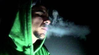Slowmotion-cigarette smoke