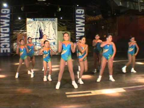 Coreo Aerobica Infantil Gymdance Tour