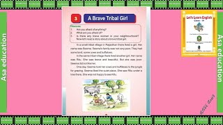 Ch 3 A Brave Tribal Girl (English, RBSE, Grade 4) Easy explanation in Hindi