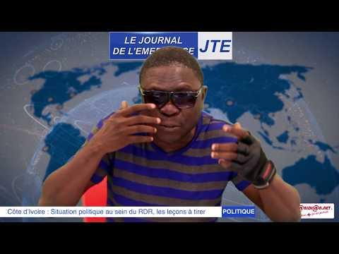 JTE  : Tension au sein du RDR, Gbi de Fer s'adresse à ADO et Soro