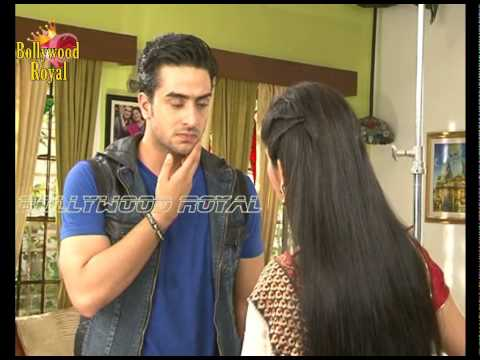 On Location of TV Serial ''Yeh Hai Mohabbatein'' Ishita Slaps Romi for Pregnating Sarika Part  1