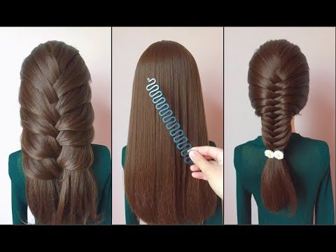 Top 10 amazing hairstyles ♥️ Hairstyles Tutorials ♥️ Easy hairstyles with hair tools ❤️❤️Part 5