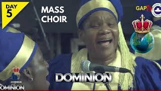 RCCG Mass Choir Ministration @ August 2018 HOLY GHOST SERVICE
