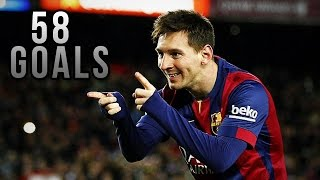 • Lionel Messi ● All Goals ● 2014/2015 • HD •