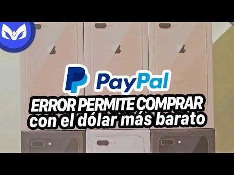 PAYPAL REGALA DOLARES Y MUCHOS iPhone POR GLITCH
