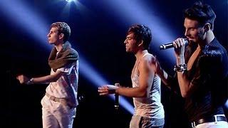Rylan, Ottavio and Gathan's performance - Aretha Franklin's Respect -The X Factor UK 2012