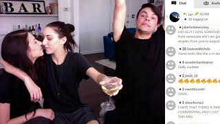 Ally Hills & Danny Padilla YouNow 4/21/16 ( Stevie Boebi )
