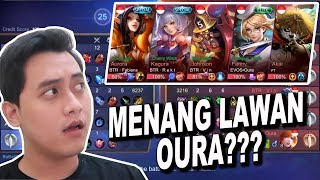 KELVIN GAMING MENANG LAWAN TOP 1 GLOBAL EVOS OURA ???