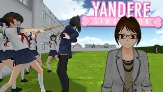 DELINQUENTS & TEACHERS CHASING ME!   Yandere Simulator Myths