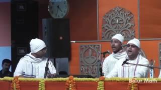 Song 'Vira Darpe Vijaya Gao He' by Brahmacharins
