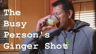 The Guide to Quick & Easy Ginger Shot Every Morning
