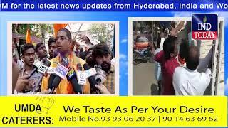 Bajrang Dal Protest on Valentine Day