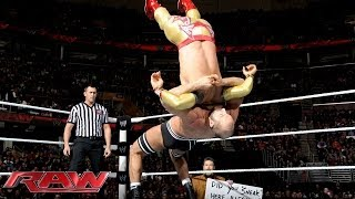 Rey Mysterio & Sin Cara vs. The Real Americans: Raw, Jan. 27, 2014