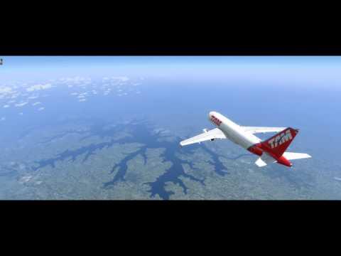 Realistic Prepar3D V3.4 [A320 TAM3325 | BSB----VCP]