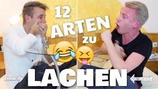Die 12 KRANKESTEN ARTEN zu LACHEN + Outtakes.. mit Bibi's Cousin // Julienco