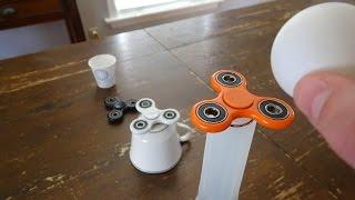 Fidget Spinner Trick Shots   That