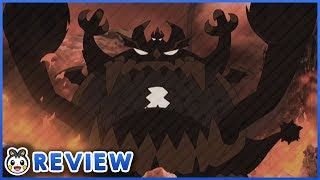 The Terrifying Guzzlord Appears! Ash VS Dia! | Pokemon Sun and Moon Episode 100 Review